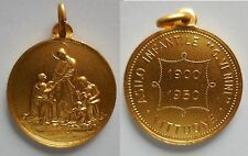 medaglia asilo infantile G. Venini Vittuone 1950 Milano