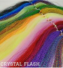 Crystal Flash  - Choice of Colour - Fly Tying Materials - Tinsel - Saltwater