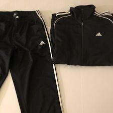 NWOT Men's Adidas Black Track Suit Sz XL