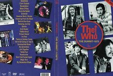 The Who Houston Summit 1975 + Pontiac 1975 & Bbc 1973 Original Dvd New