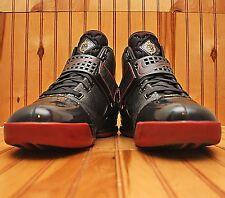 2007 Nike Zoom LeBron V 5 Size 13 - Black Varsity Crimson Gold - 317253 001