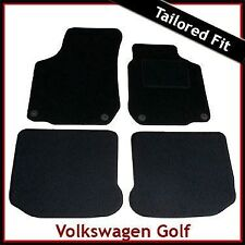 Volkswagen VW Golf Mk4 1997-2004 Tailored Fitted Carpet Car Mats BLACK