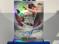 2019 Topps Finest Origins Todd Helton Autograph Auto Rockies Card FOA-TH