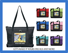 BEAUTY & THE BEAST MONOGRAM W/ NAME TOTE PURSE SPORTS GYM SCHOOL DIAPER BAG D3