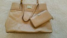 Kate Spade Ostrich Embossed Handbag and Wallet