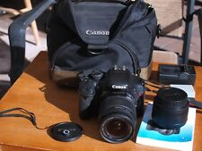 Canon Rebel T2i Eos 18.0Mp Digital Slr Camera with Lenses and Accessories