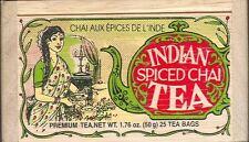 Indian Spiced Chai Tea - 25 Bags - Decorative Box