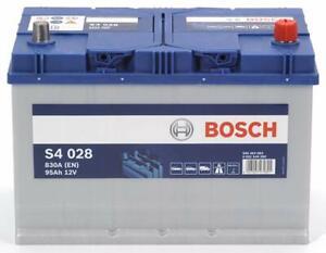 0092S40280 Batería para Coche Bosch S4 95Ah Amperio 830 En 12V Silver S4 028