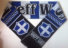 SHEFFIELD WEDNESDAY Football Scarves New from Soft Luxury Acrylic Yarns