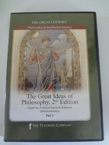 The Great Ideas of Philosophy 2d Edition Part 2 The Great Courses Philosophy DVD