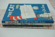 NEW Children's Books Lot of 3 Dr. Seuss Cat in Hat,cat comes back dr,suess ABC