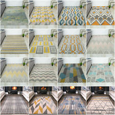 Modern Geometric Area Rug Best Rugs For Living Room Lounge Bedroom Apartment Mat