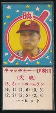 1950 Masumi Isekawa JGA 10 Yakyu Timu Awase Japanese Baseball Card Daiei Stars