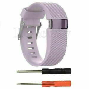 For Fitbit Charge HR Tracker Silicone Wristband Strap Replacement Watch Band