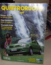 QUATTRORUOTE Luglio 1998 Ferrari 456 M GTA Jaguar XXR Fiat Barchetta1.8 Limited