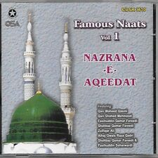 NAZRANA-E-AQEEDAT (FAMOUS NAATS) VOL. 1 - NEW NAAT CD