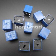 10PCS SONGLE Relay 12V DC SPDT Relay SRD-12VDC-SL-C 10 PCS High Quality 5 Pins