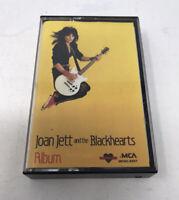 Joan Jett And The Blackhearts - Album Cassette Audio Tape - MCA 1983