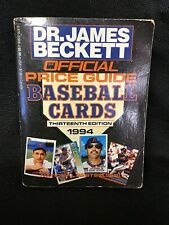 James Beckett's Official Price Guide Baseball Cards- 1994 - 13th Edition