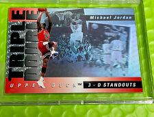 Michael Jordan Card - 1994 SP - HOLO 3D - UPPER DECK INSERT  - BULLS JERSEY #23