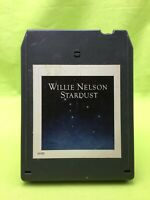 Willie Nelson Stardust 8-Track Cartridge (1978) Good Condition Columbia Records