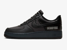 Nike AIR FORCE 1 GTX Trainers Black Gore Tex  / Anthracite Shoes