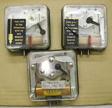 ELECTRIC SLAVE MOVEMENTS FOR SPARES OR REPAIR, ALTERNATIVE POLARITY CLOCK SYSTEM