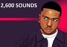 TIMBALAND DRUM SAMPLEs 2600 HIP HOP Sounds rnb REASON Logic Maschine Ableton R&B