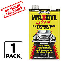 BLACK Hammerite Schutz Waxoyl Car Rust Proofing Under Seal Wax Oil 5 Litre X 1