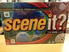 New & Sealed: Coupe du Monde FIFA SCENE IT? DVD Trivia Game Official Licensed Mattel