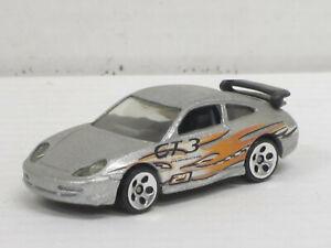 "Porsche 911 GT3 Cup in silbermetallic ""GT3"", ohne OVP, Hot Wheels, ca. 1:64"