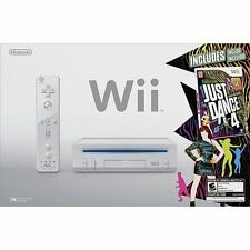 Nintendo Wii Just Dance 4 Bundle White Very Good 2Z