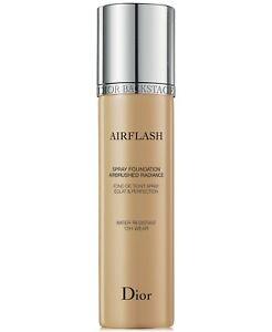 Dior Backstage Airflash Spray Foundation Water Resistant 12H Wear 2.3Oz.