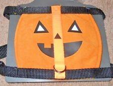 NEW Adjustable Halloween Pumpkin Dog Harness Size Small S
