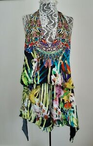 Camilla Franks Silk Playsuit Size 1 Fit 8/10