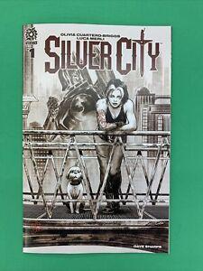 Silver City #1 1:15 David Lopez B Variant AfterShock Comics 2021