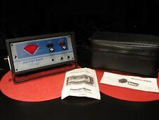 VINTAGE PETERSON STROBE TUNER MODEL 450 W/ CASE EXCELLENT CONDITION - WORKS !!!