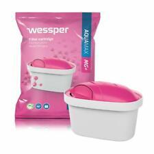 Wessper Aquamax MG+ Wasserfilter Magnesium für BRITA Maxtra Marella AmazonBasics