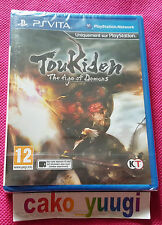 TOUKIDEN THE AGE OF DEMONS PS VITA  NEUF SOUS BLISTER VERSION FRANCAISE