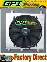 GPI NEW aluminum radiator shroud + fan datsun 1200 manual