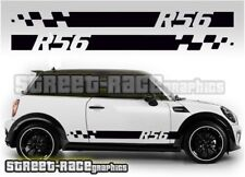 Mini side 004 racing stripes graphics stickers Cooper Countryman Paceman R56