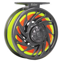 Fly Reel Combo 3/4 5/6 7/8 9/10WT CNC Machined Fly Fishing Reel & Fly Line