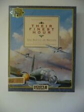 Their finest Hour  ,  Commodore Amiga with Box.disc, Instructions Used