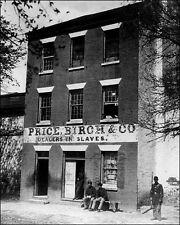 Slave Auction House #1 Photo 8X10 - Alexandria VA 1865 - Buy Any 2 Get One FREE