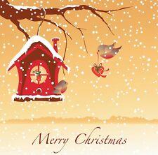 "Christmas Card ""Robin Sweethearts Ideal Wife Husband Girlfriend Partner FREEPOST"