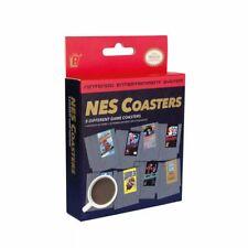 Nintendo Nes Classic Video Game Cartridge Coasters for Drinks 8 Set Mario Zelda