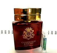 ENGLISH LAUNDRY CAMBRIDGE KNIGHT EDP - 5ml Glass Decant Atomizer- SAMPLE