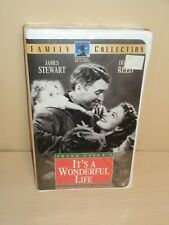 Its a Wonderful Life (VHS, 1996, Uncut Clam Shell) - New & Sealed!