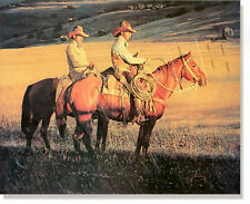 "*** ""BUCKAROOS"" LIMITED EDITION PRINT BY GORDON SNIDOW ****LOW #1049"