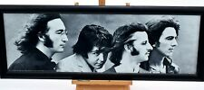 The Beatles Black and White Photo Picture Large Print Wall Art Framed Rare